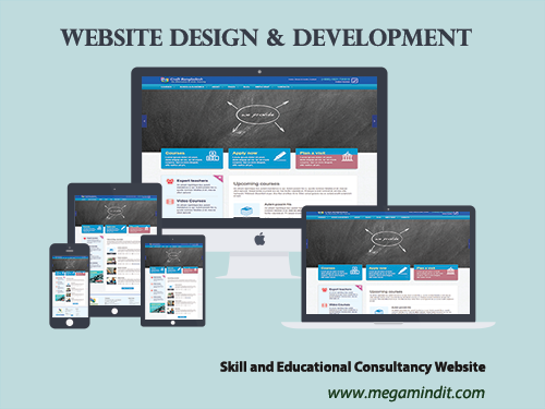 Skill and Educational Consultancy Website